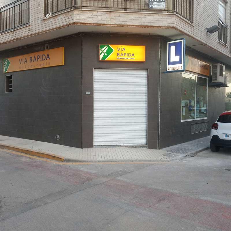 Autoescuela Vía Rápida en Cartagena con medidas anticovid